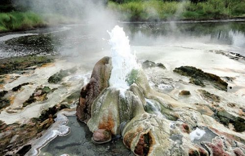 Kanangorok hot springs