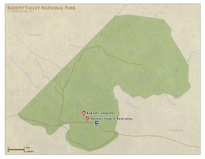 Kidepo National Park map