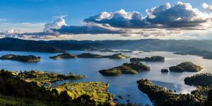 Lake Bunyonyi for an evening boat cruise & relaxation