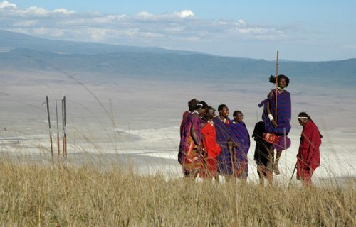 Maasai cultural walk in Serengeti