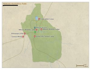 Mikumi National Park Map