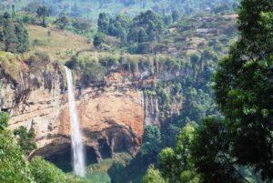 Sipi Falls in Mount Elgon National park